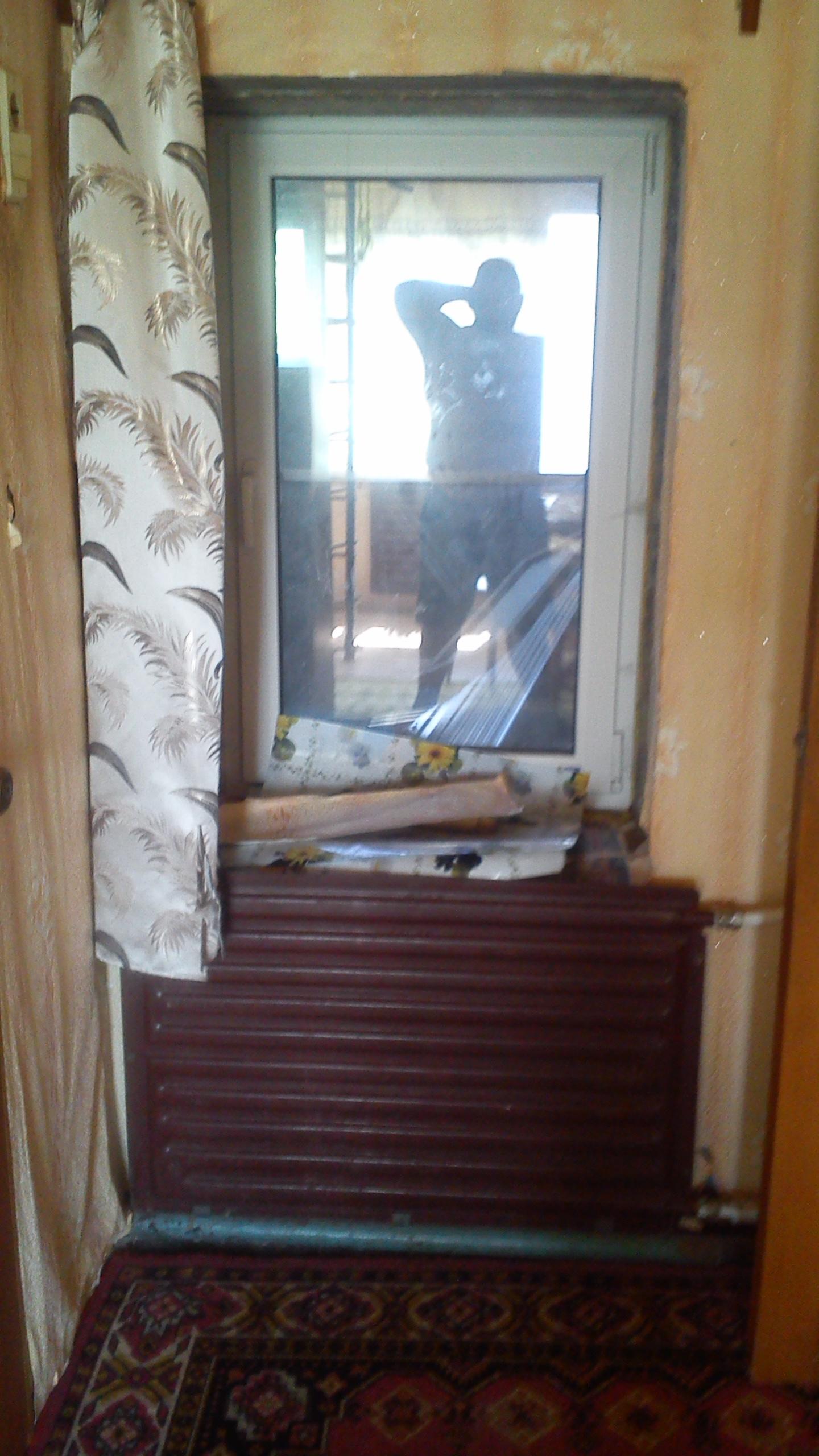 Как из окна сделать дверной проем 7