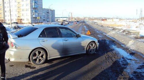 Сбили пешехода на улице Новочерновская