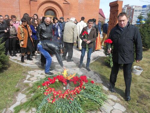 ЛДПР в Барнауле почтила память жертв армянского геноцида