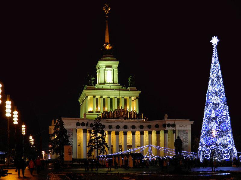 Новогодняя Москва 2015-2016. Шикарная иллюминация и не только. Фоторепортаж