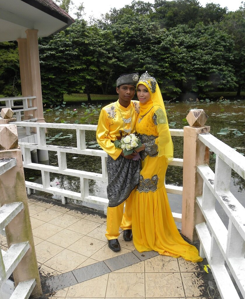 Малайзийские брачующиеся