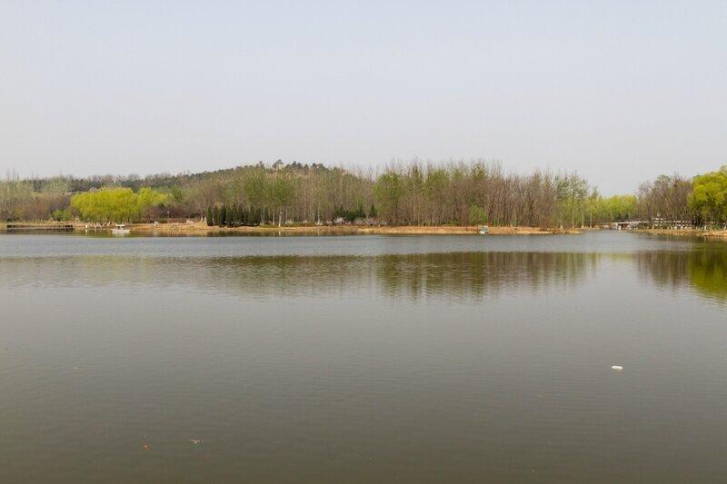 Озеро, Олимпийский парк, Пекин