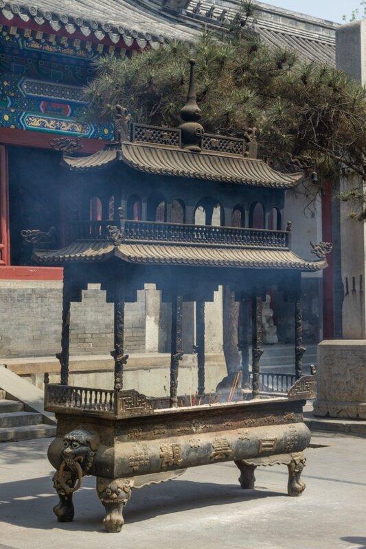 Жертвенник, храм Белого облака, Пекин