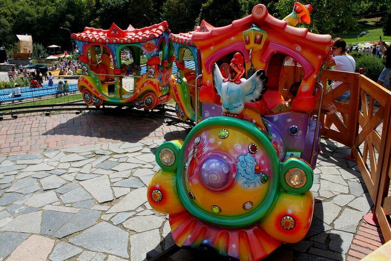 Детская железная дорога на Певческом поле