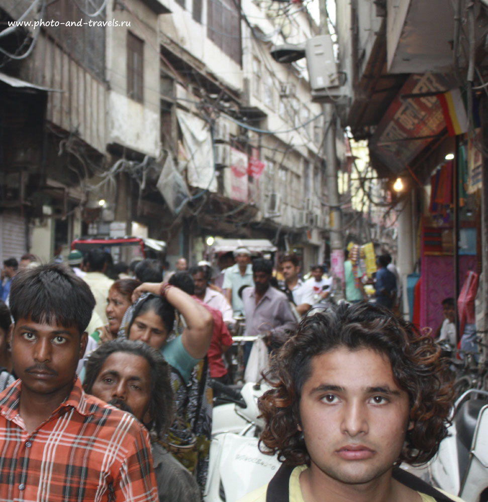 Фото 1. Путешествие в Индию – страну контрастов.