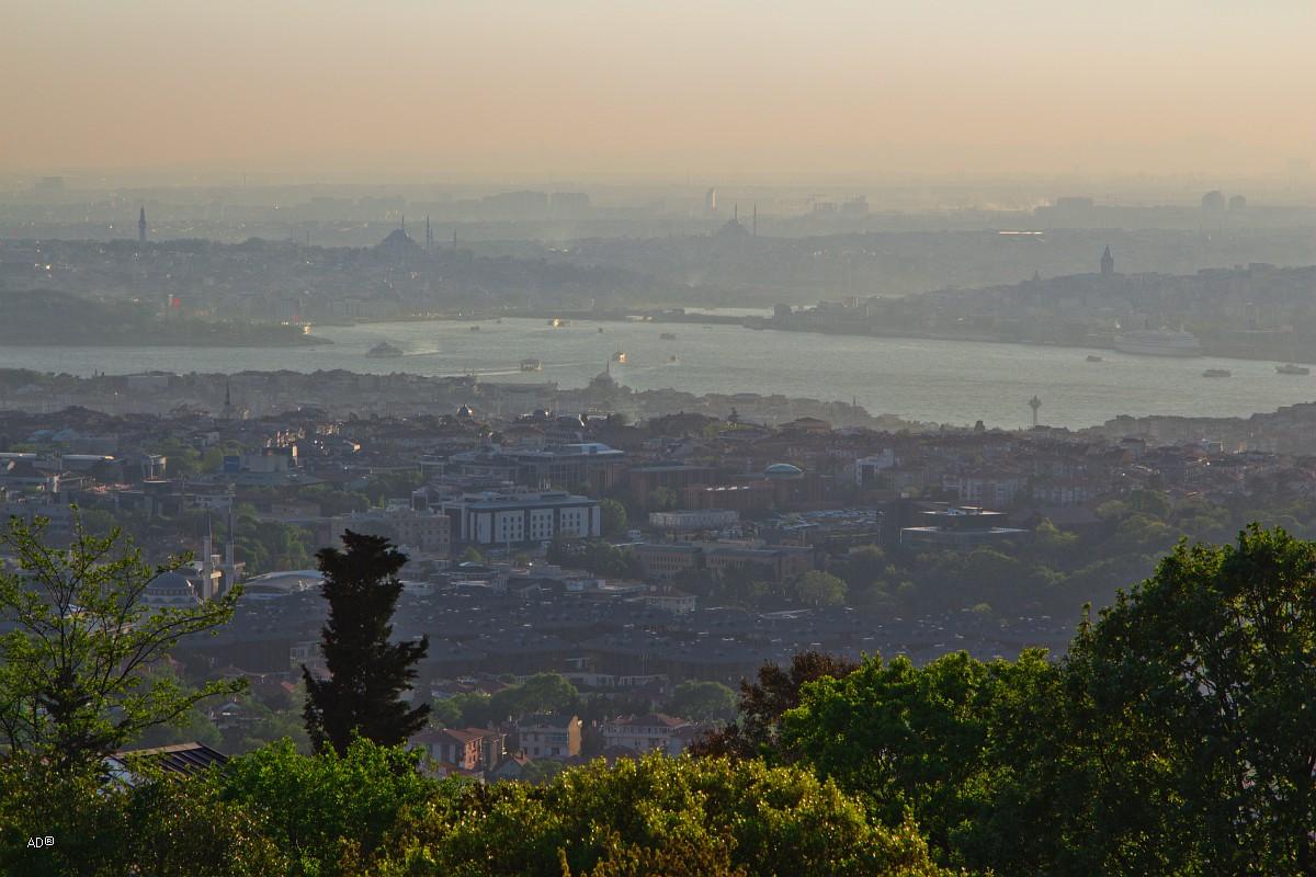 Стамбул 2015 - Виды Стамбула с Чалымджа