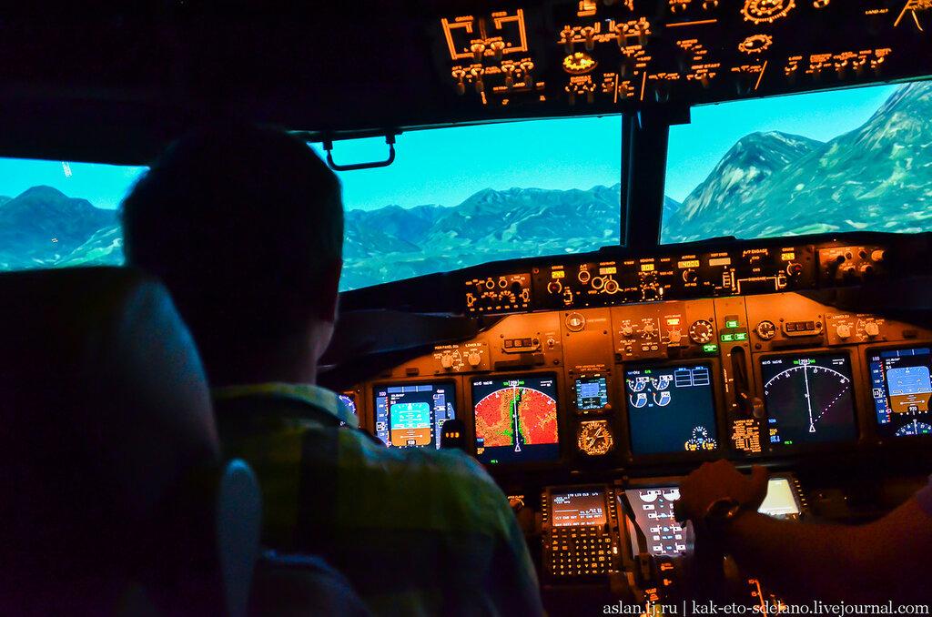Как пилоты учатся летать