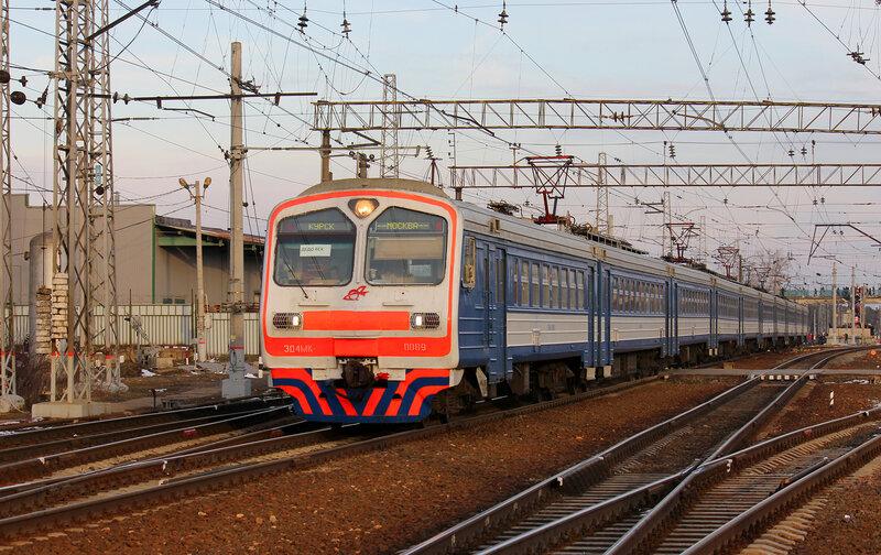 ЭД4МК-0089 на станции Нахабино