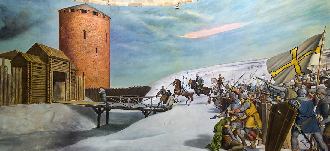 Каменецкая вежа - виртуальная экскурсия (очень много фото)