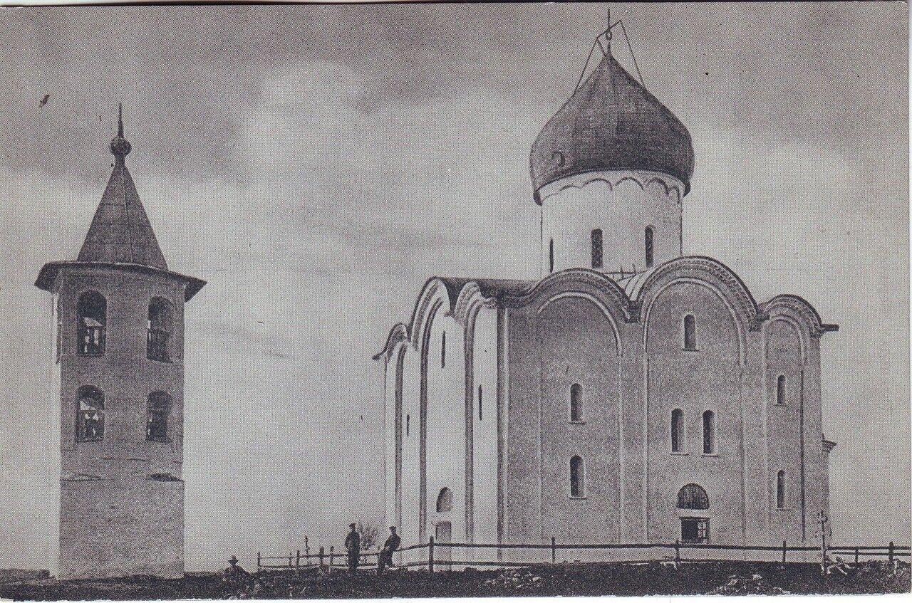 Древний Храм Спаса Нередица