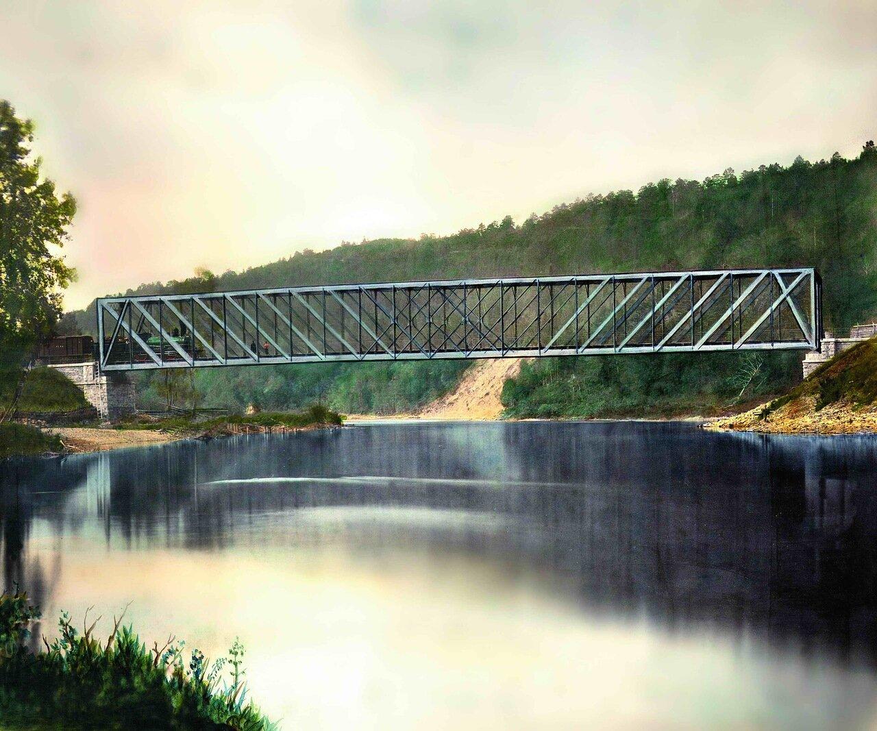 38. Мост через р.Вильва