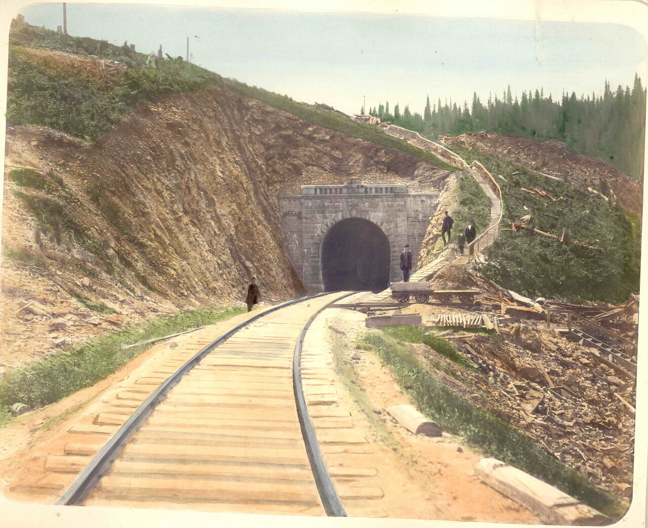 23. Портал тоннеля, 22 верста