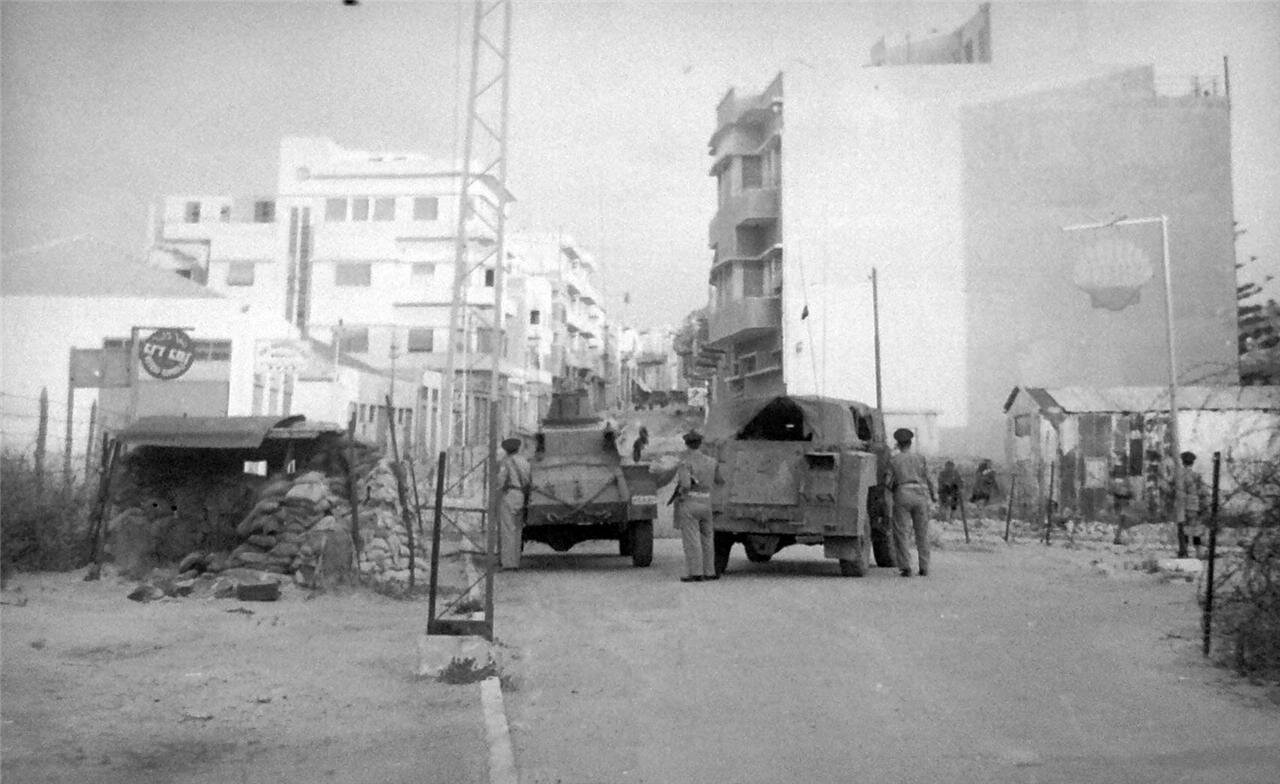 1948. Бои в Яффо