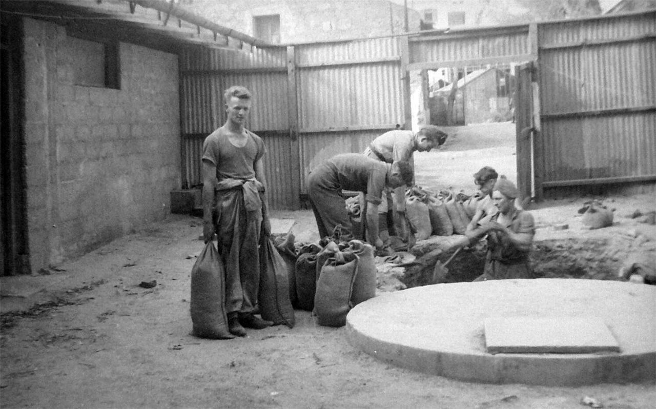 1948. Яффо, создание укреплений