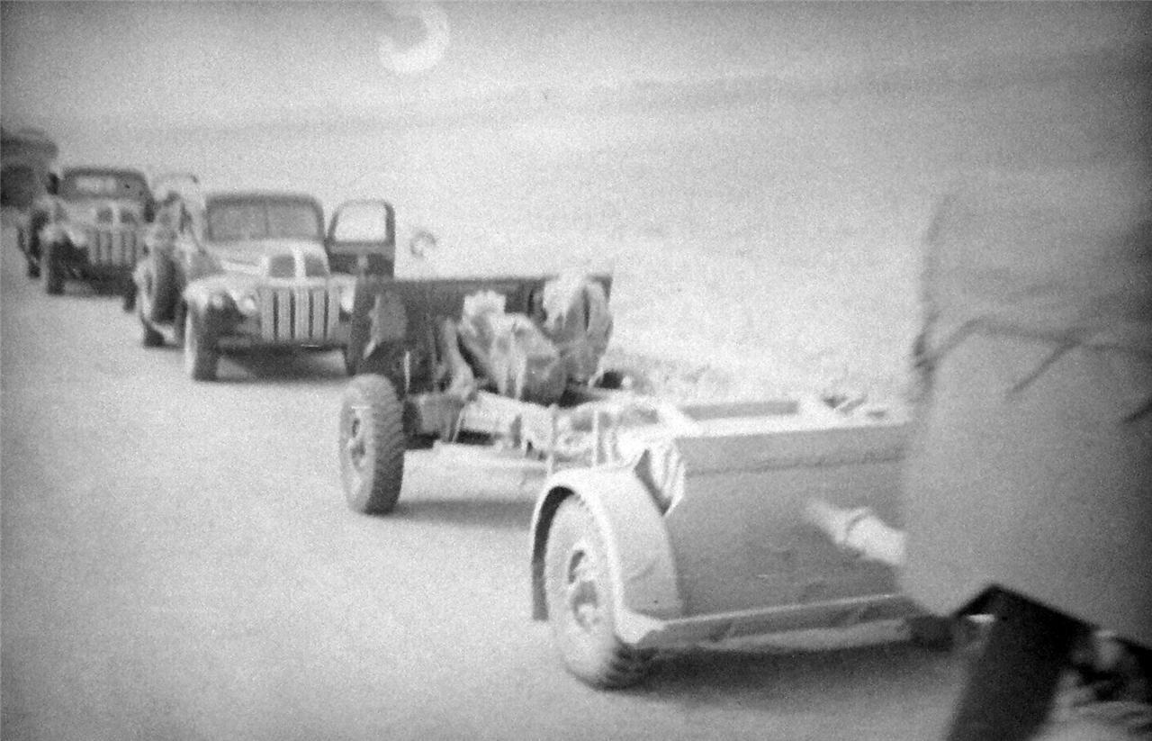 1948. Колонна египетской армии