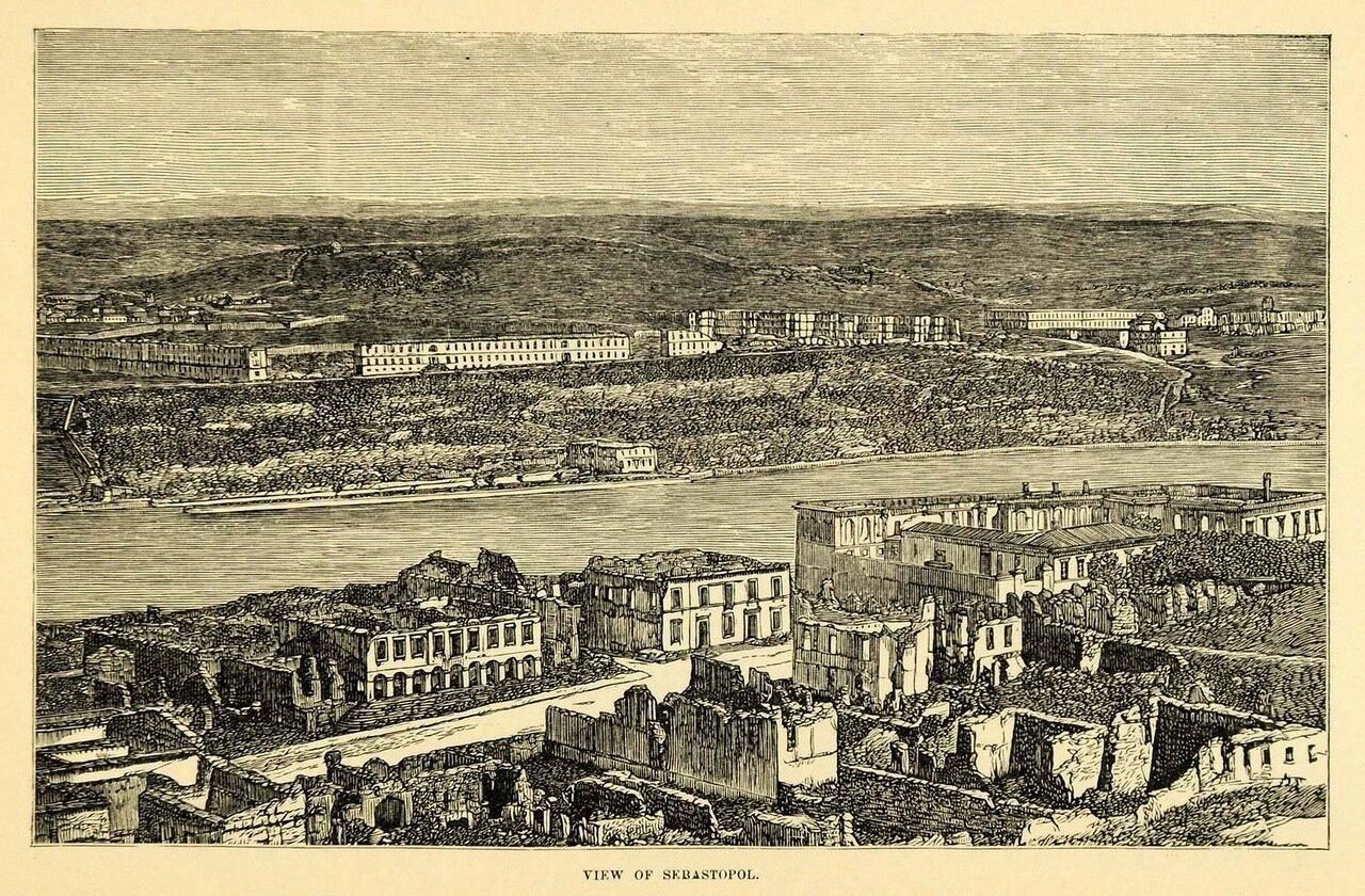 Крым. Панорама Севастополя