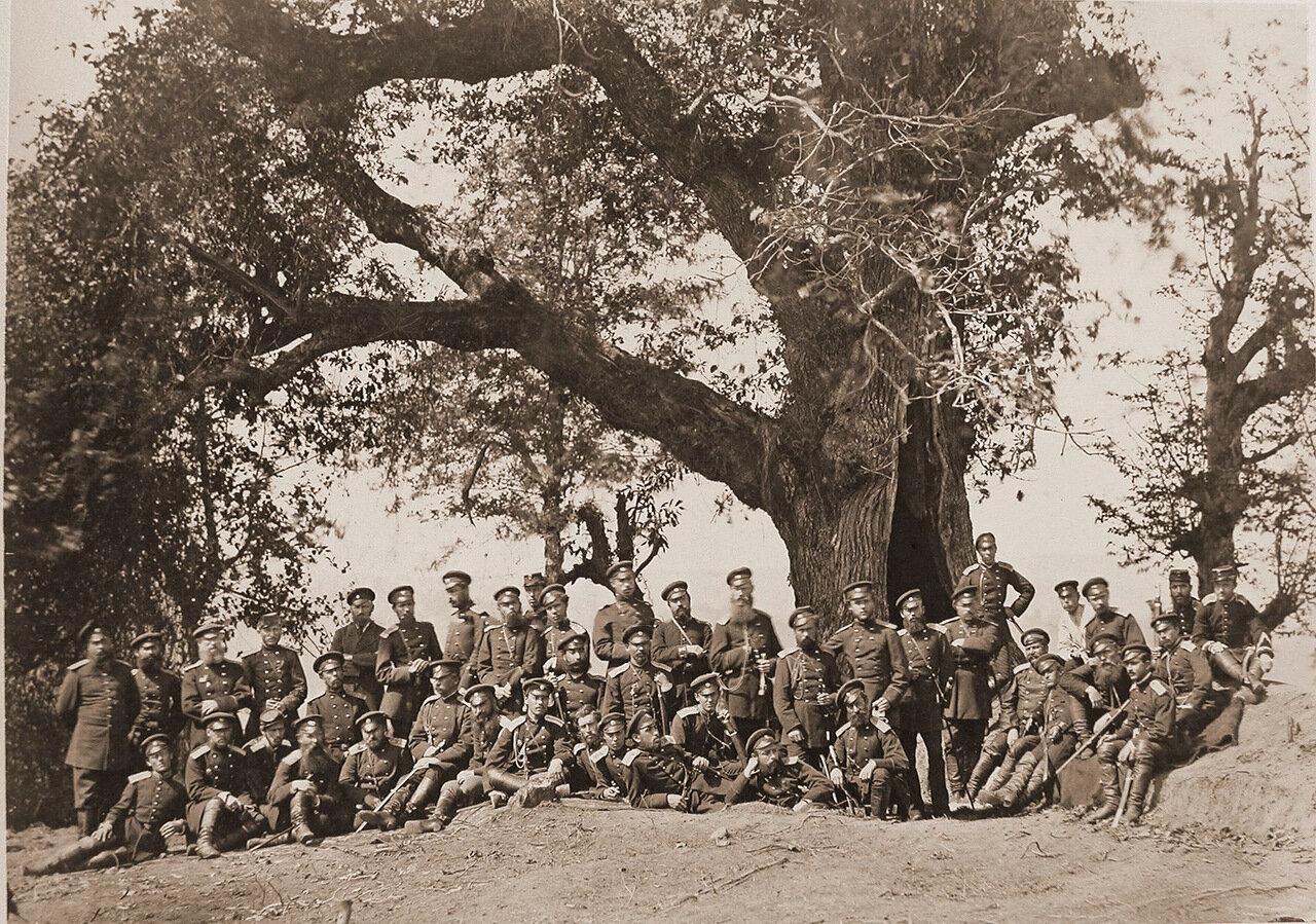 Группа офицеров 1-го и 4-го Кавказских Стрелковых батальонов
