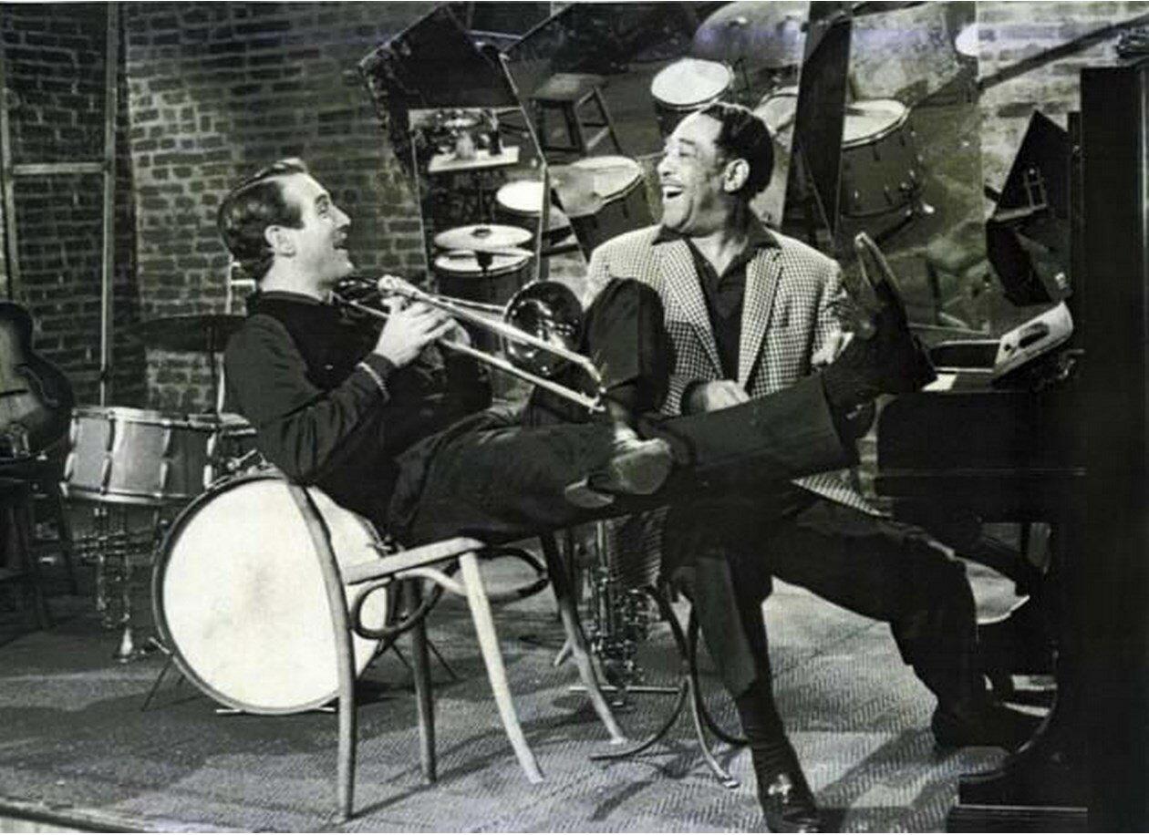 1960. Ньюман и Дюк Эллингтон в Париже