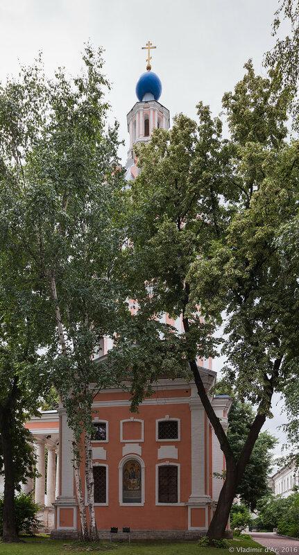 Церковь святого апостола Иоанна Богослова. Андреевский монастырь.