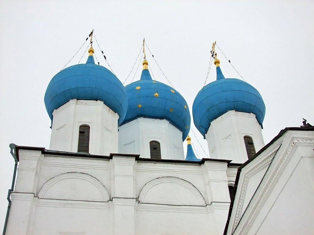 Серпухов. Высоцкий монастырь.