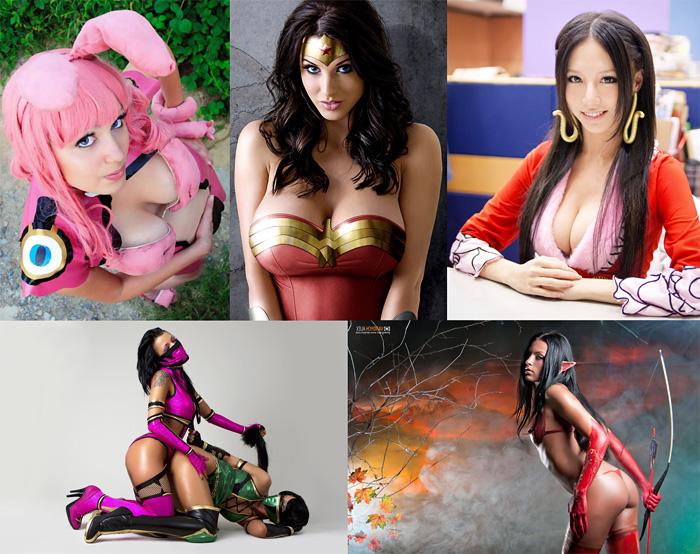 Сексуальные девушки из игр и комиксов