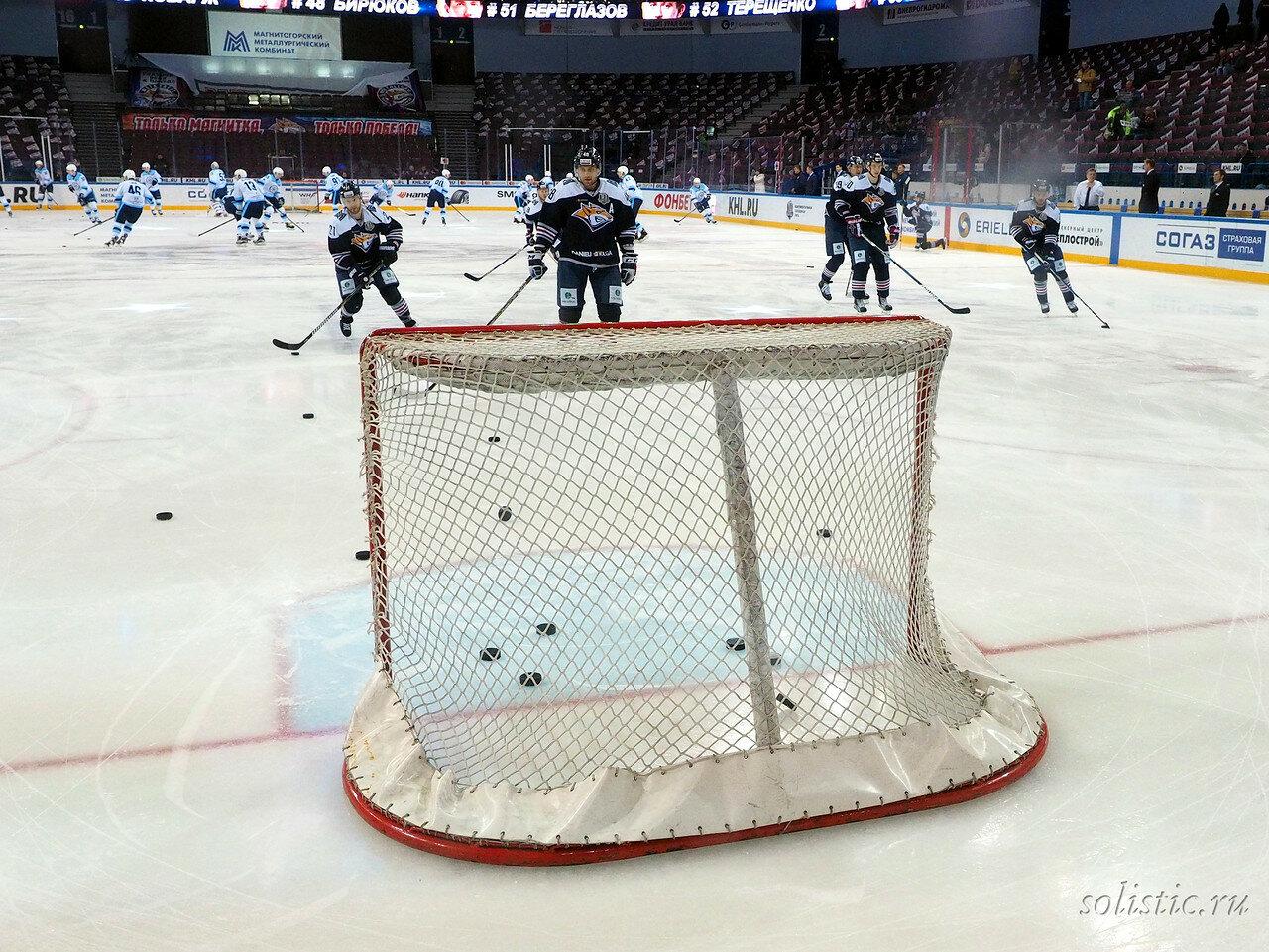 3 Металлург - Сибирь 09.11.2017