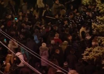 Украина: Драка в Донецке