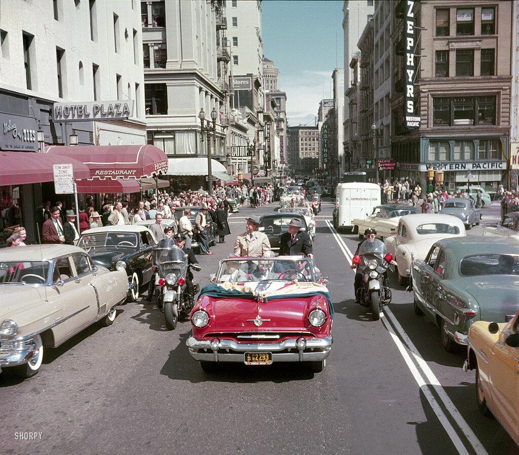 1952 год в цветной фотографии