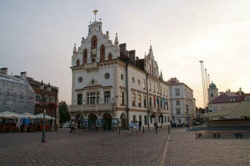 Ратуша. Построена в 16 веке