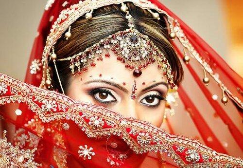 Красивая свадьба в стиле «Индийское кино»