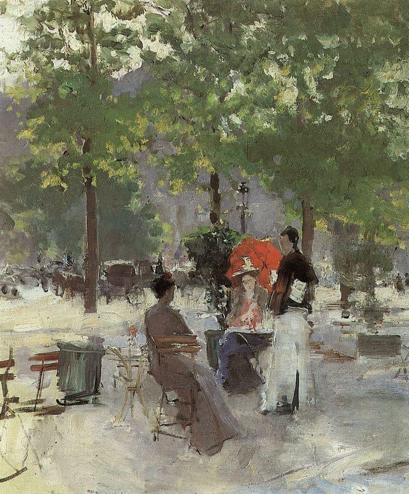 Парижское кафе2. 1890-е.jpg