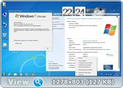 Windows 7 Ultimate SP1 32bit Loginvovchyk + Soft