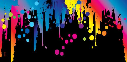 брызги краски
