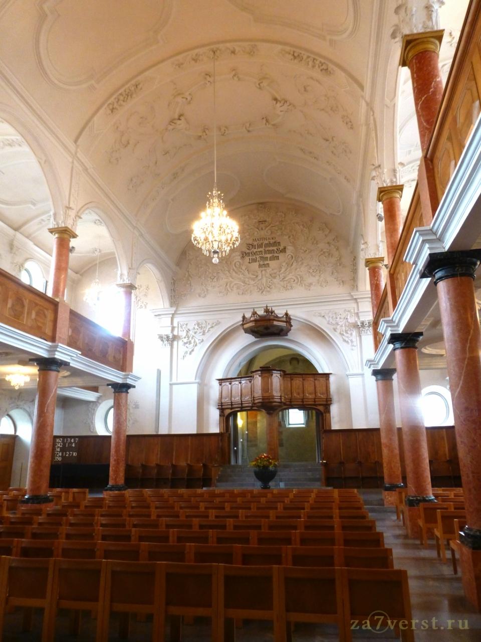Собор святого Петра, Цюрихе, Швейцария