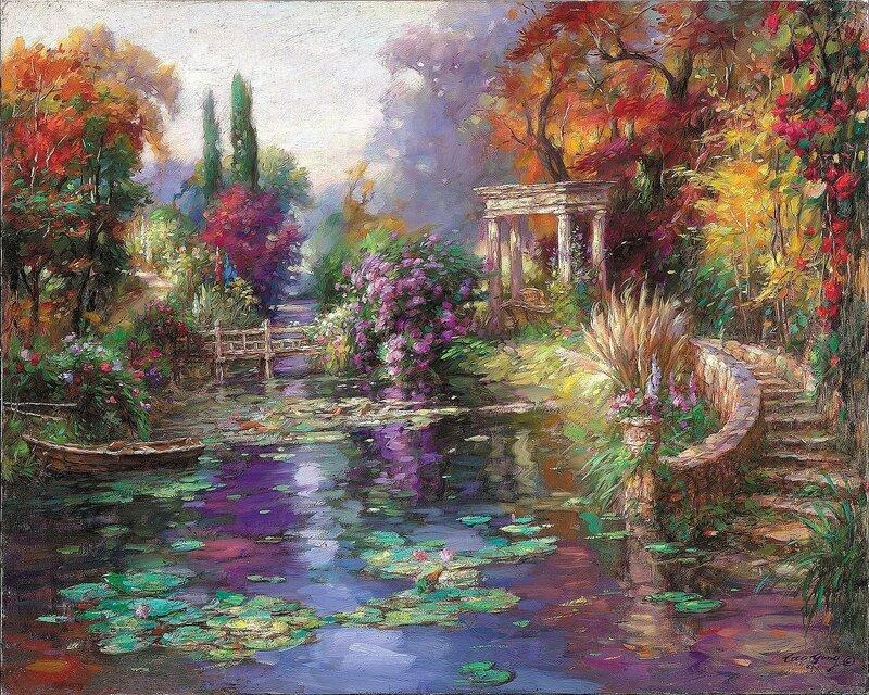 Cao Yong. Garden Pond.jpg