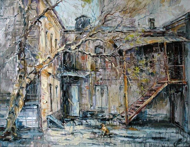 Анна Чарина. Старый дом на Доброслободской.jpg