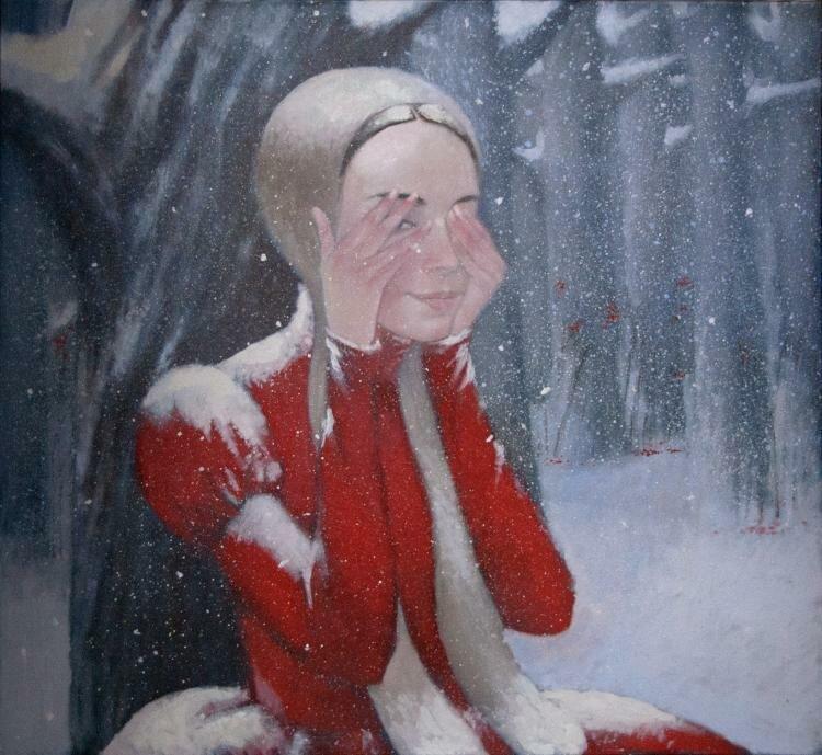 Наталья Сюзева. Прятки. Зима.jpg