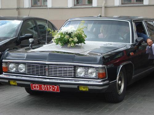 Отдых в Беларуссии: Минск, лимузин