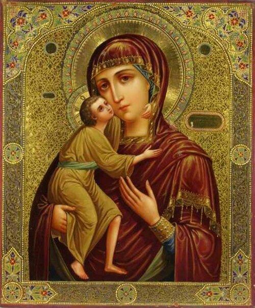 икона божьей матери федоровская: