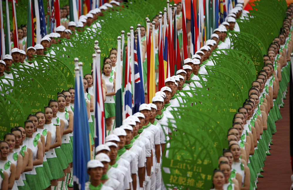 Красивые фотографии открытия XV чемпионата легкой атлетики в Пекине 0 13ff43 c5bb36d1 orig