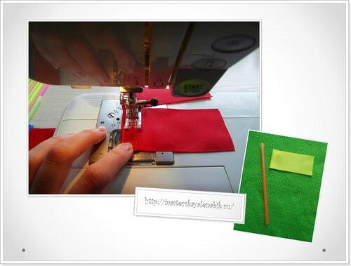 Как сделать флажок своими руками? Фото-мастер-класс