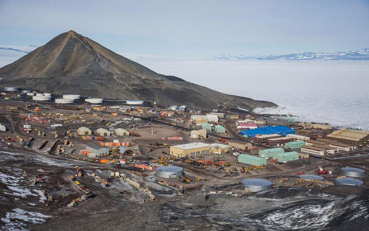 2. Нас встречают! Название Антарктика происходит от греческих слов и означает область противоположну