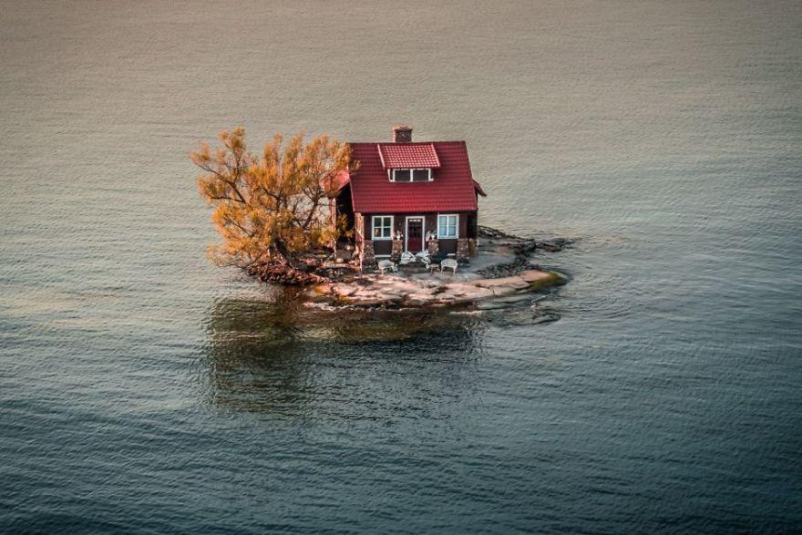 В заливе между Нью-Йорком и Канадой. Автор фото: JustenSoule.