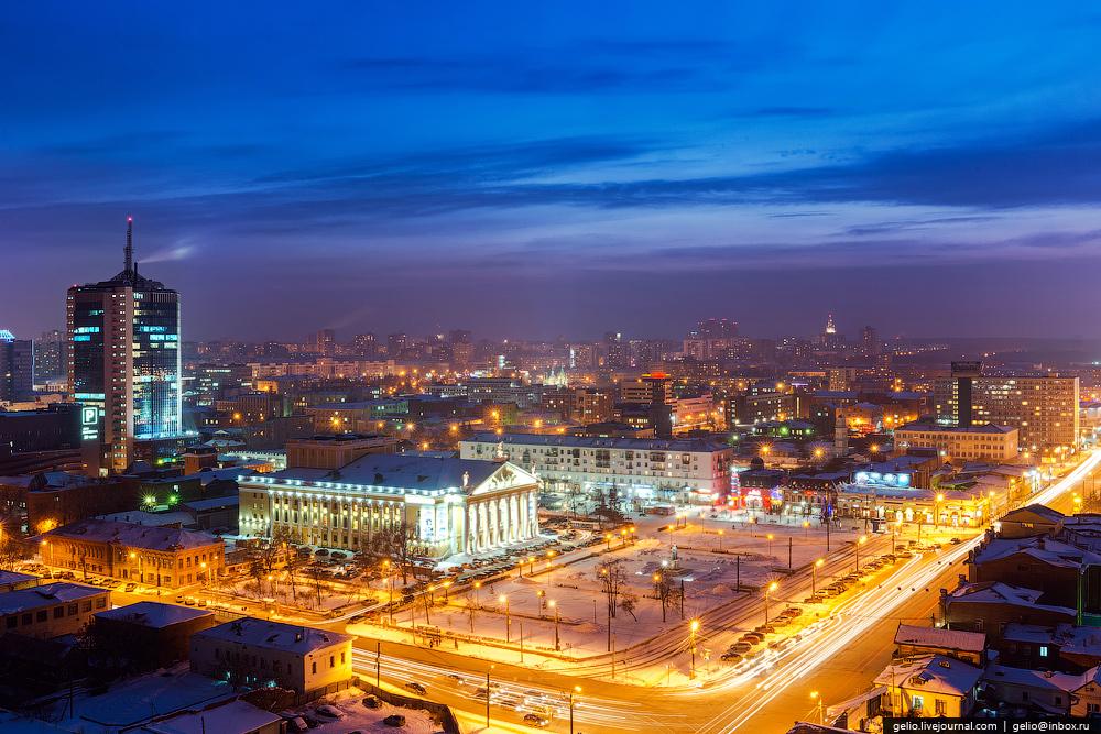 Зимний Челябинск - Gelio (Степанов Слава)