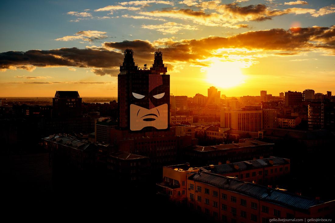 История одного дома: высотка «Бэтмен» в Новосибирске