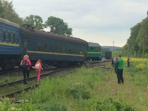 авария поезда под нежином киев-каменец-подольский