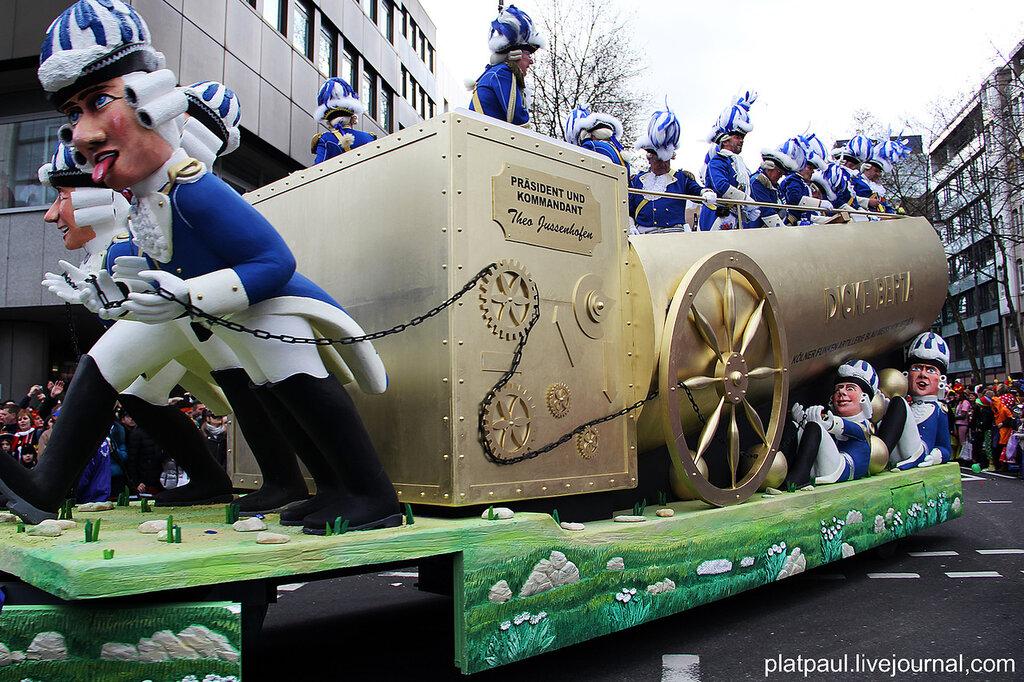 Кельнский карнавал 2014