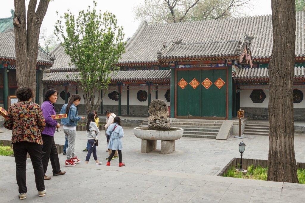 Двор Райского благоухания, Гунванфу, Пекин