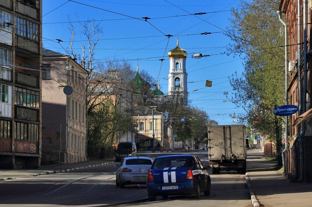 Вознесенская церковь на Ильинской улице