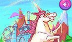 Пони Единорог разгоняет облака